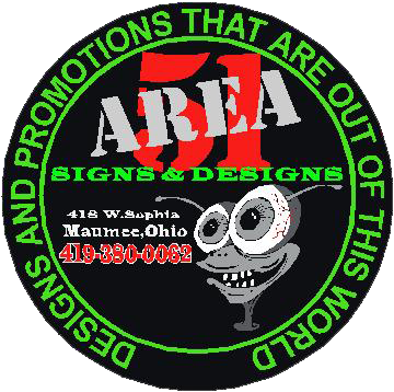 Area 51 Signs and Designs Logo