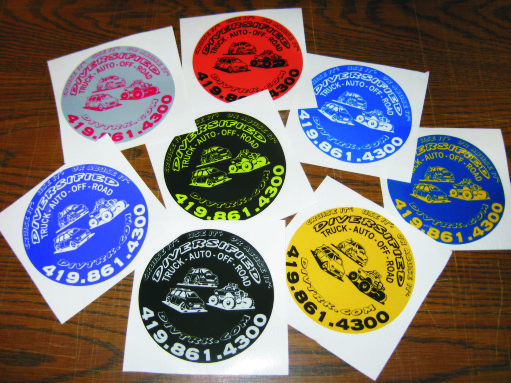 Custom sticker printing